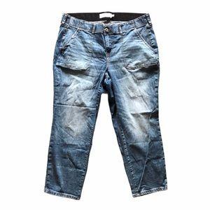 Torrid Denim Straight Leg Light Wash Jeans